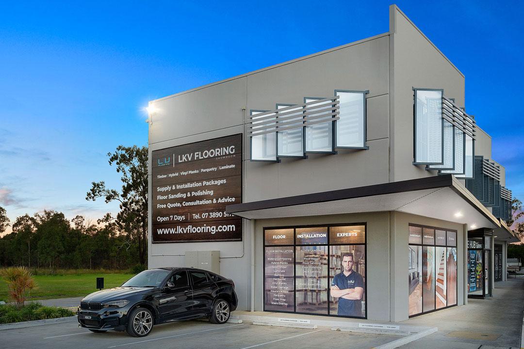 LKV Flooring shopfront